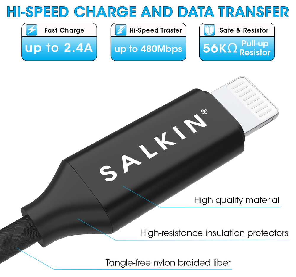 Salkin Professional 3 in 1 Cable