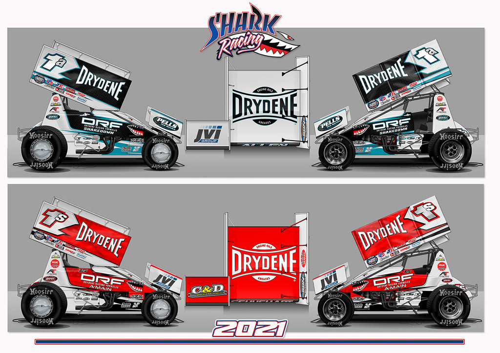 SHARK RACING CONTINUING BOBBY ALLEN'S DREAM  COMPETING WITH THE WORLD OF OUTLAWS IN 2021