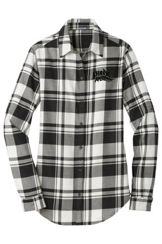 Shark Racing Flannel Women's Shirt