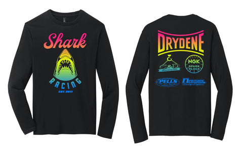 Shark Racing 90's Neon Long Sleeve