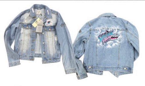 Shark Racing Jean Jacket