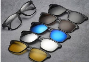 9f269206498 5 IN 1 MAGNETIC LENS SWAPPABLE SUNGLASSES – musichic