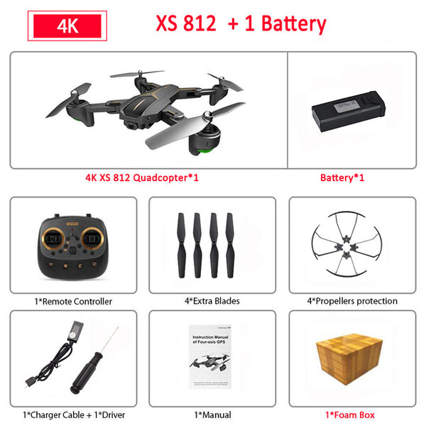 Foldable RC Drone Quadcopter RTF Kids Birth Gift