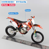 Motorcycle Diecast Model Motocross