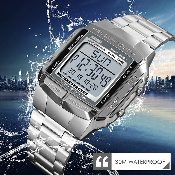 Top Brand Luxury Clock Electronic LED Digital watch