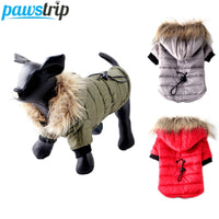 Warm Small Dog Clothes Winter Dog Coat