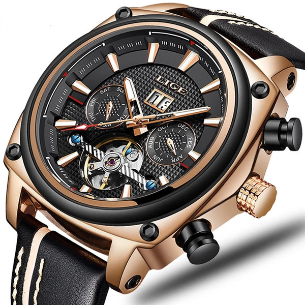 Top Brand Luxury High Quality Automatic Mechanical Sports Watch