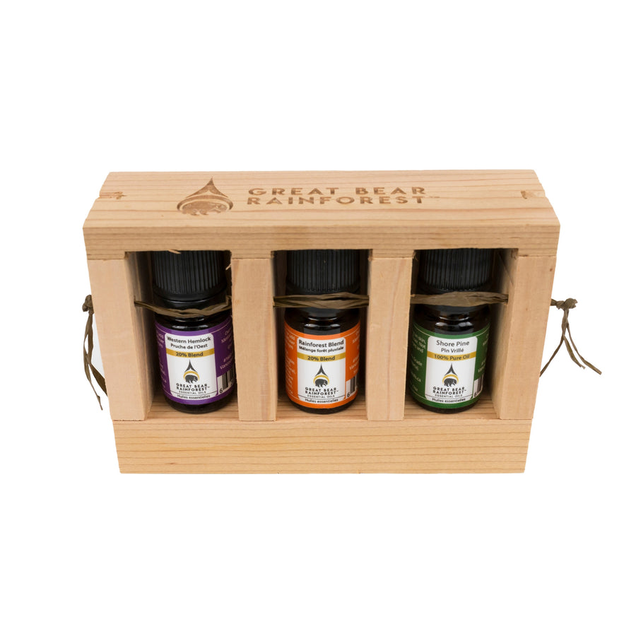 Great Bear Rainforest Essential Oil Gift Kit - Great Bear Rainforest Essential Oils
