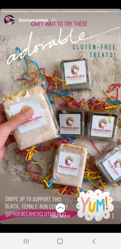 gluten-free brownies, great friend gift, sweet treat, food gift