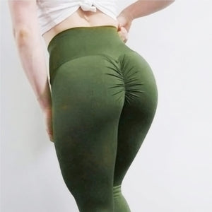 The Scrunch Up Leggings - Acusling