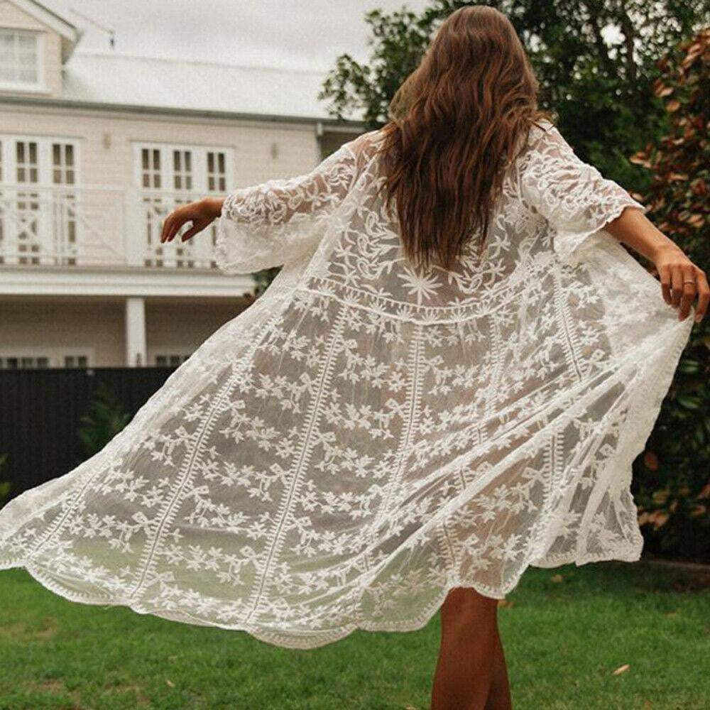 The Diana Floral Cover-up - Acusling