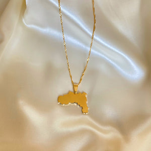 Gold Tigray Map (Unisex)