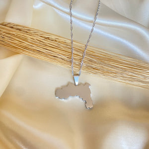 Silver Tigray Map (Unisex)