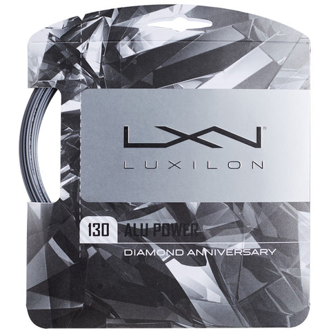 Cordaje Luxilon Big Banger Alu Power 60 Years Diamond 12m