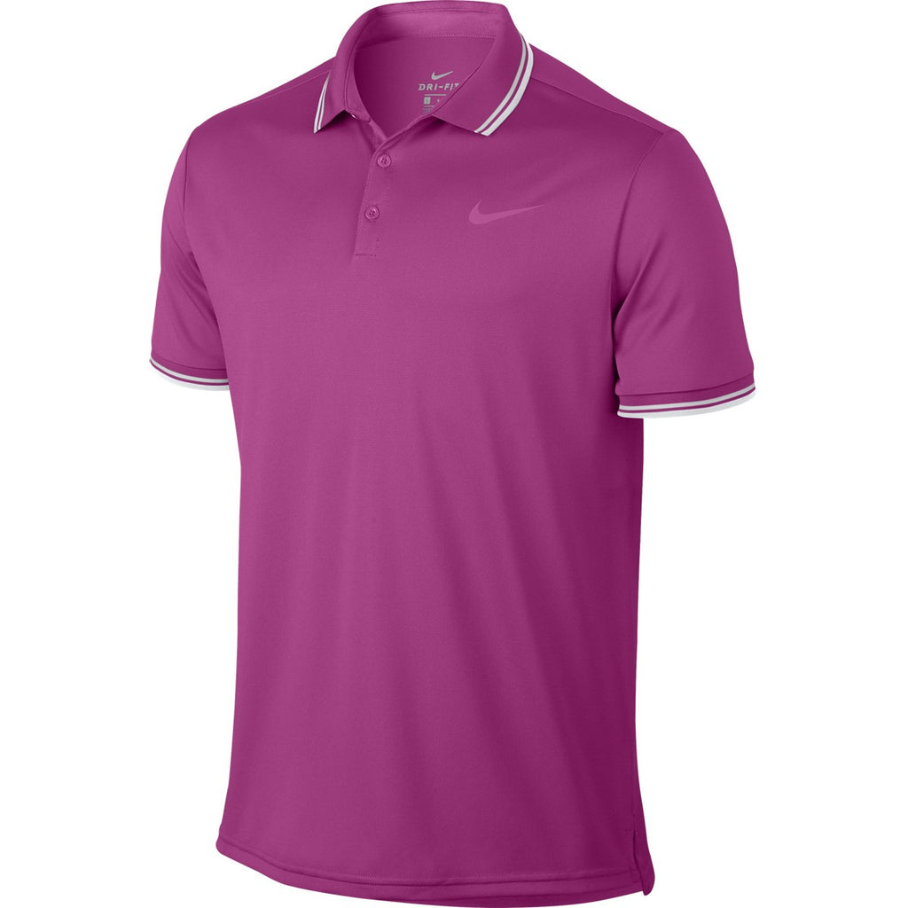 Polo Nike Court Dry Rosa