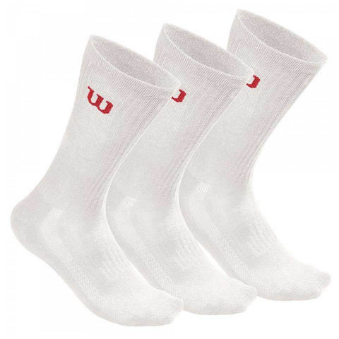 Calcetines Wilson Crew Pack 3 Unidades