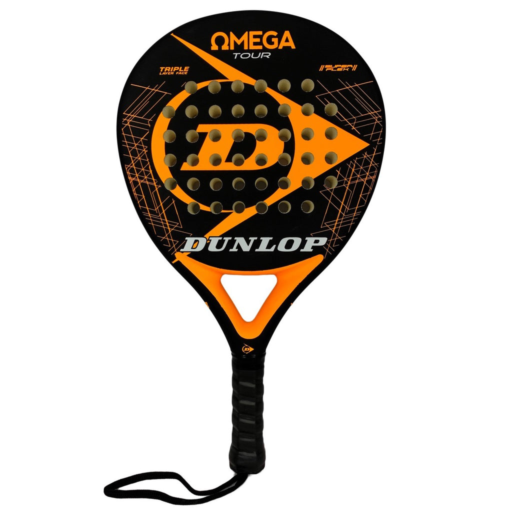 Pala de padel Dunlop Omega Tour Orange