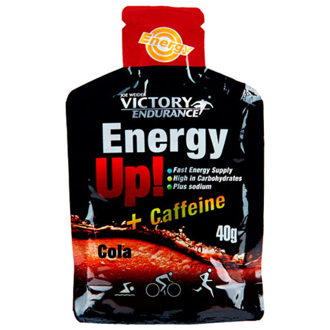 Gel Victory Endurance Energy Up + Cafeina Cola