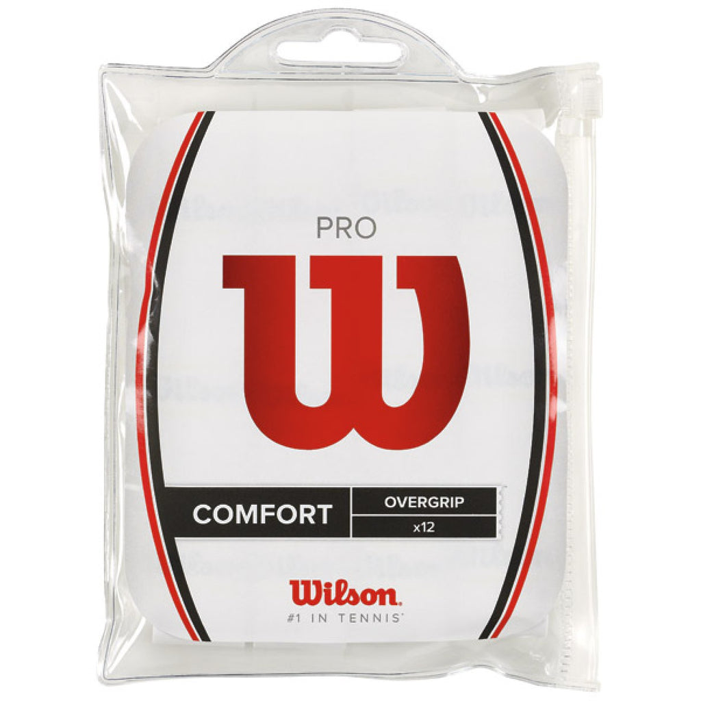 Overgrips Wilson Pro Blanco 12unidades