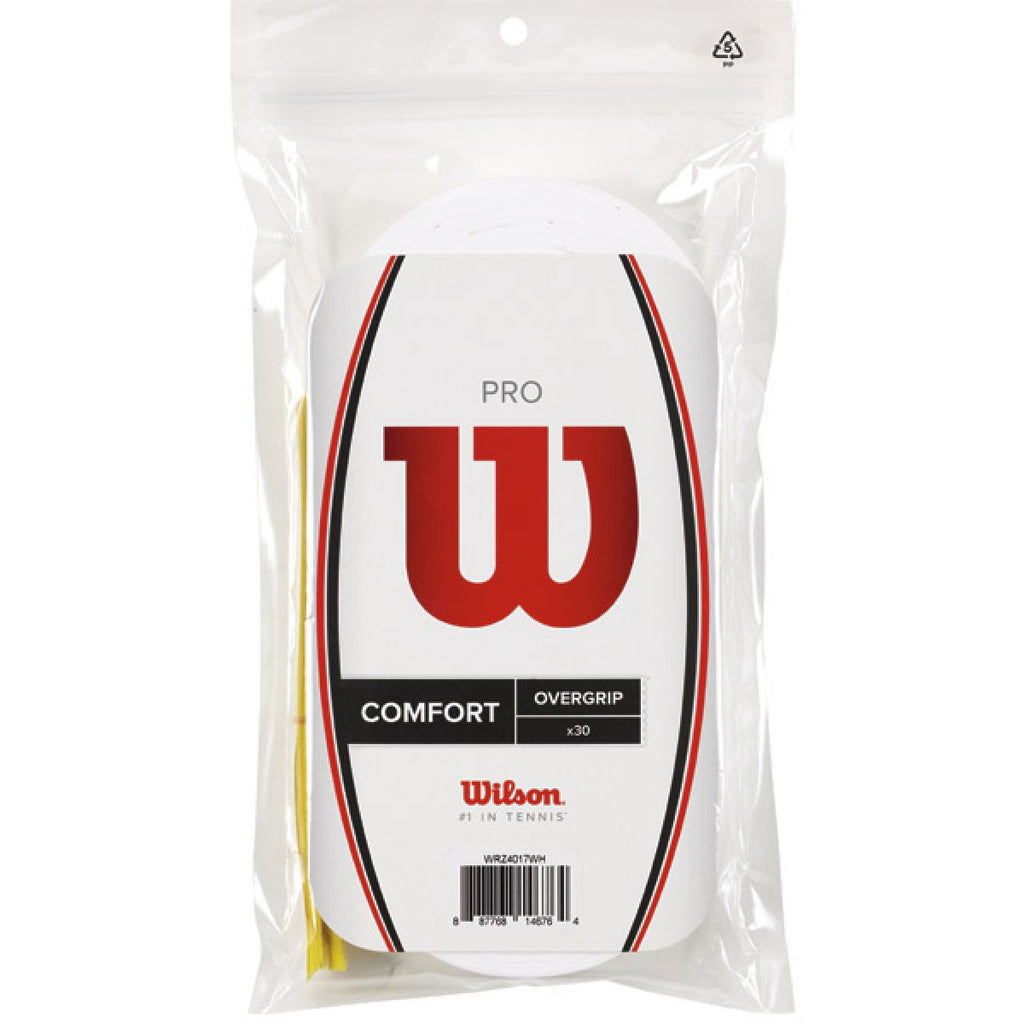 Overgrips Wilson Pro Blanco 30 unidades