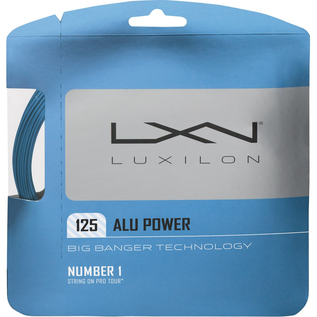 Cordaje Luxilon Alu Power Ice Blue 12m