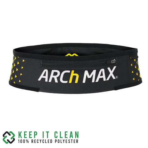 Cinturon de running Archmax Belt Pro Trail Zip Yellow
