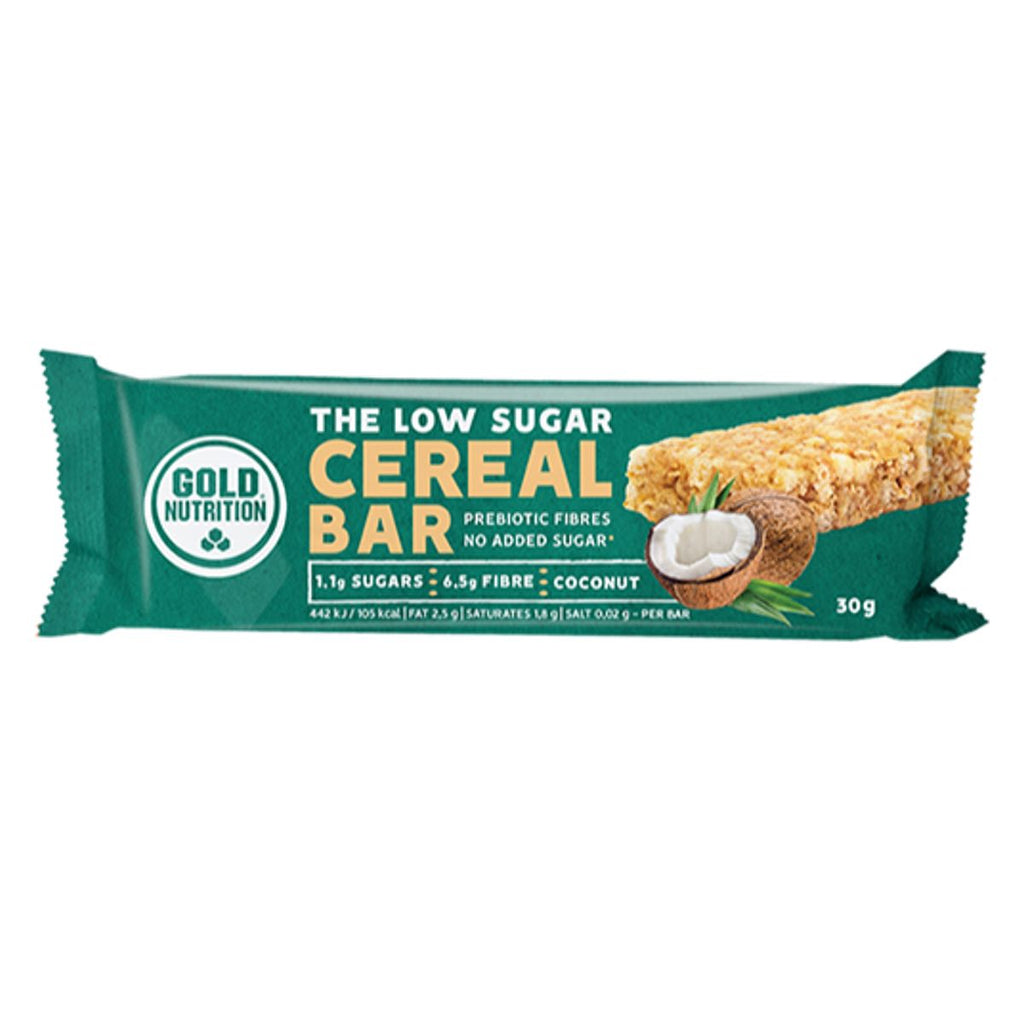 Gold Nutrition Cereal Bar Low Sugar