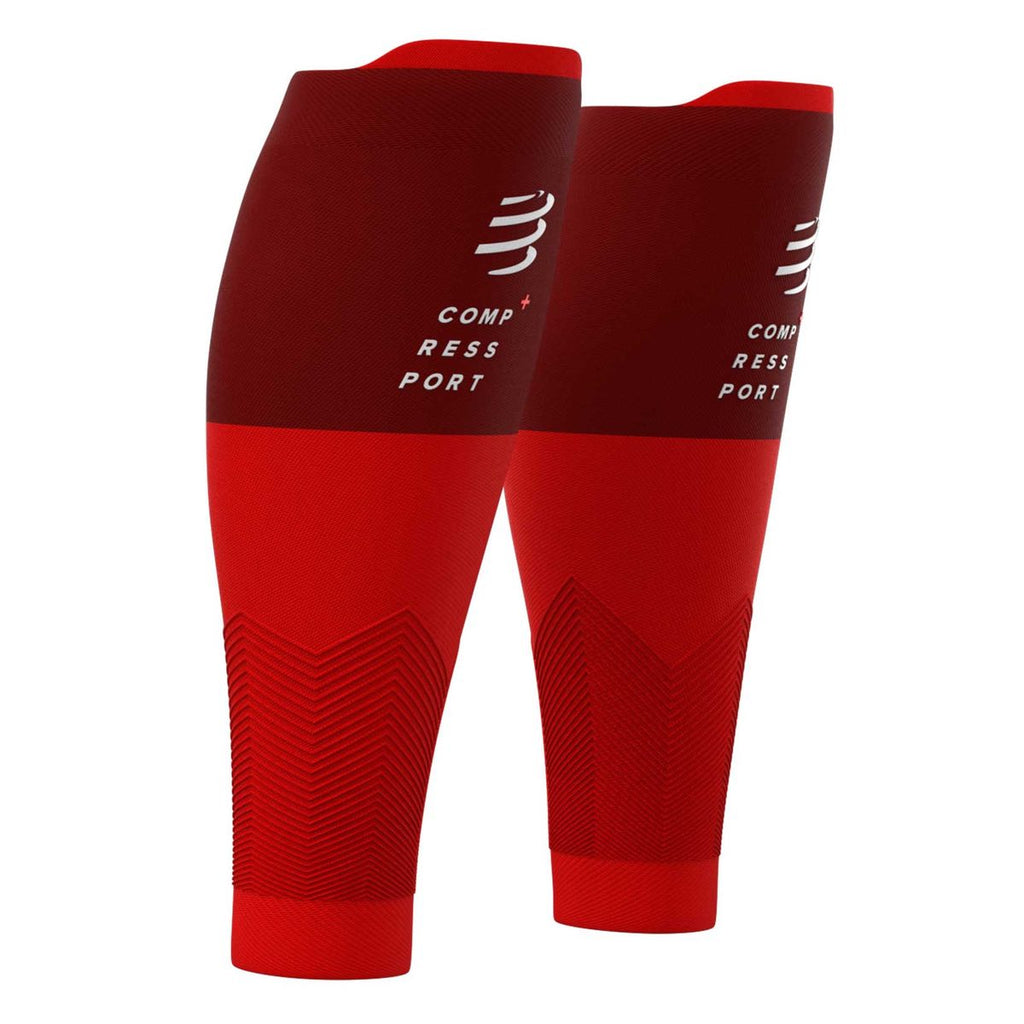 Pantorrilleras Compressport R2v2 Rojas