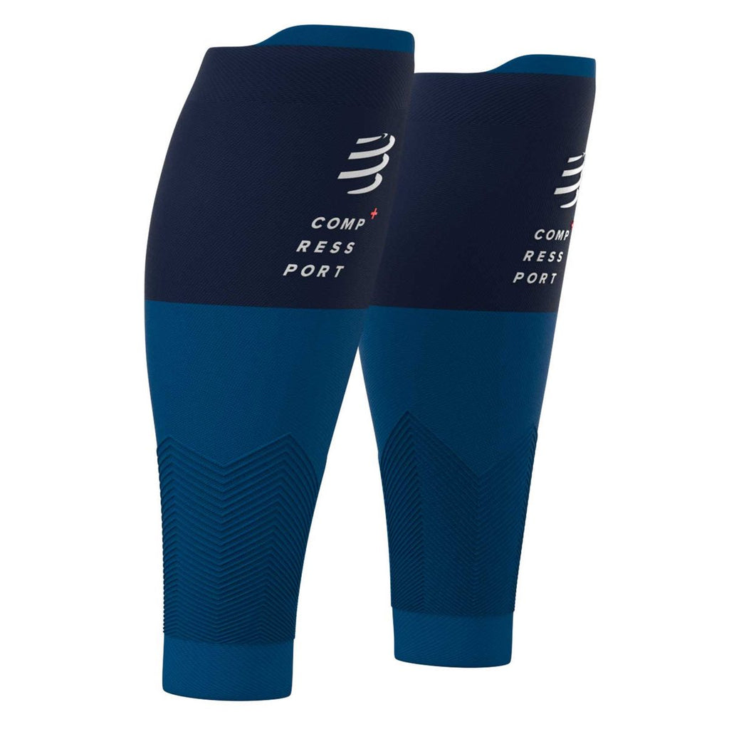 Pantorrilleras Compressport R2v2 Azul