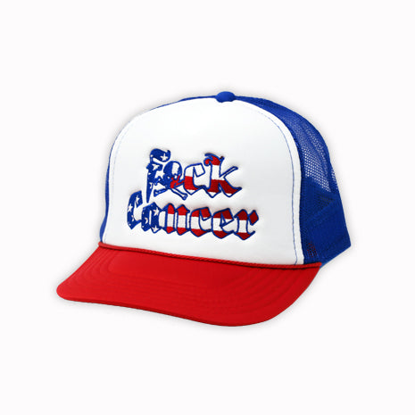 Red, White and Blue Foam Trucker