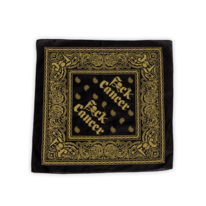 Black Gold Bandana