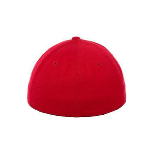 Red Fitted Flex-Fit Hat