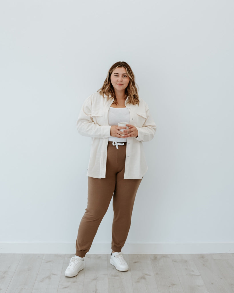 neutral outfit