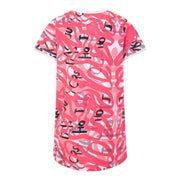 GIRLS TSHIRT DRESS ALL OVER PRINT - houseofjrs