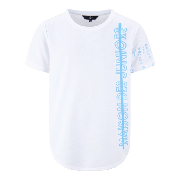 GIRLS 'MAISON DES JRS' LOOSE FIT SHORT SLEEVED TEE - houseofjrs