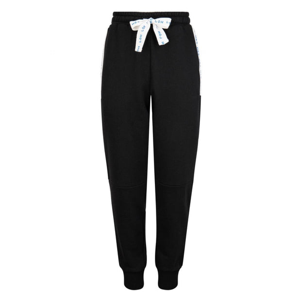 BOYS TAPE BLACK JOGGERS - houseofjrs