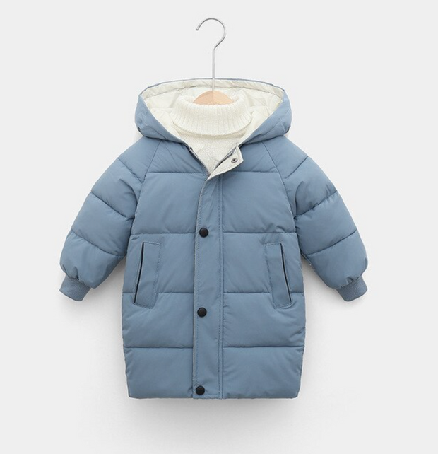 Soft Blue Coat freeshipping - HOJ