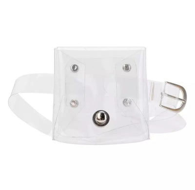 GIRLS MINI TRANSPARENT SHOULDER/WAIST BAG - houseofjrs