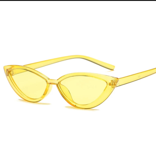 HOJ TRANSPARENT CAT EYE SUNGLASSES UV400 - houseofjrs