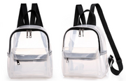 HOUSE OF JRS TRANSPARENT CLEAR  BACKPACK - houseofjrs