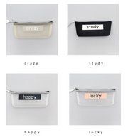 SLOGAN PENCIL CASE - houseofjrs