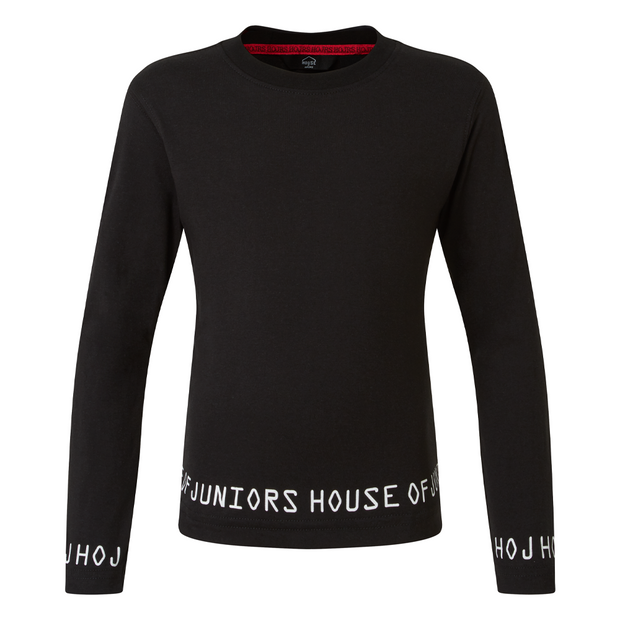 ULTIMATE BLACK LONG SLEEVED - HOJ