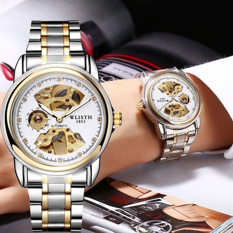 Duo-Skeleton Luxury Mechanical Watch