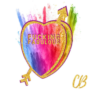 """Fabulous"" Candy Conversation Hearts Art Print"