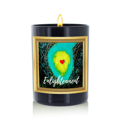 Enlightenment Candle by The Heart Division