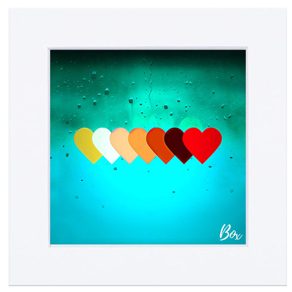 Hearts are Hearts Canvas Prints - The Little Heart Series