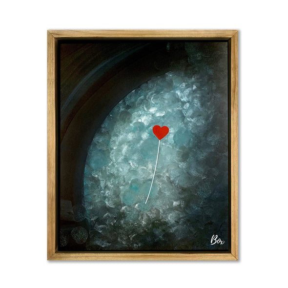 "Untethered Heart 1 Original Acrylic 16""x 20"""