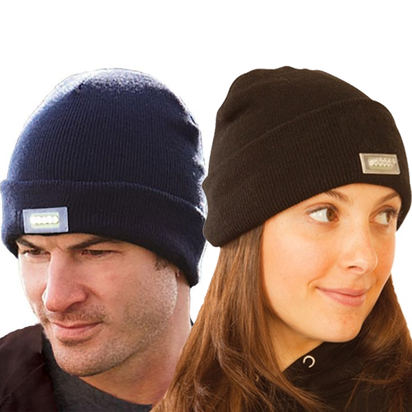 Flashlight Beanie - Best Seller - Black Friday Special - Deal Ends Soon
