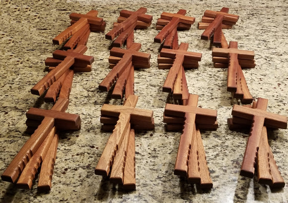 Hold Onto Religious Cross -- Case of 24 plus 12 Donated Free Crosses - Nonprofits Only