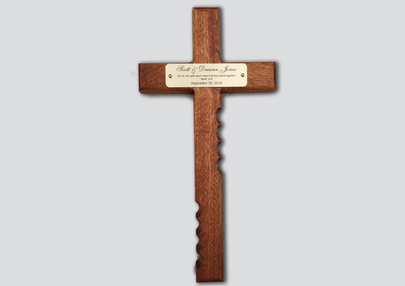 Hold Onto Religious Cross - Personalized Engraving